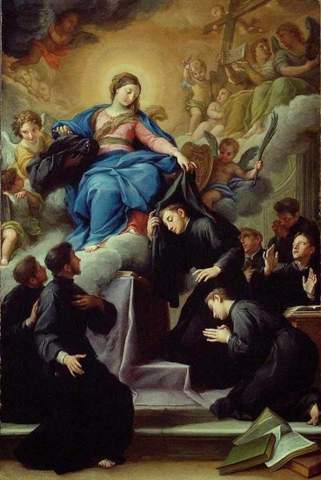 17 febbraio, Santi Sette Fondatori (Agostino Masucci)