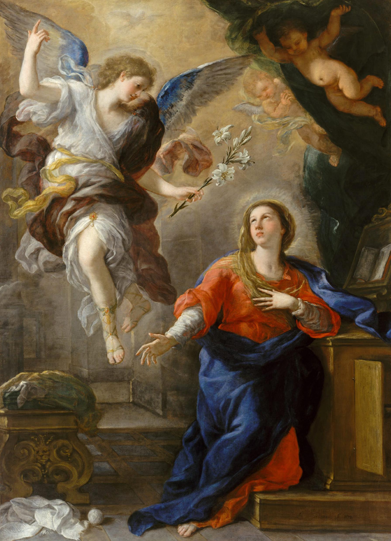 25 marzo, Annunciazione del Signore (Luca Giordano)