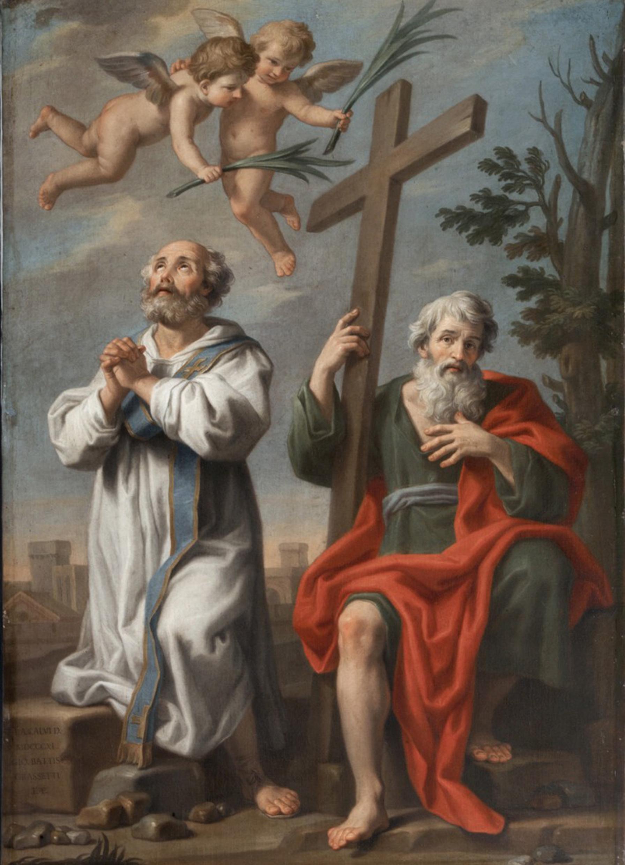 3 maggio, santi Filippo e Giacomo (Jacopo Alessandro Calvi detto il Sordino)