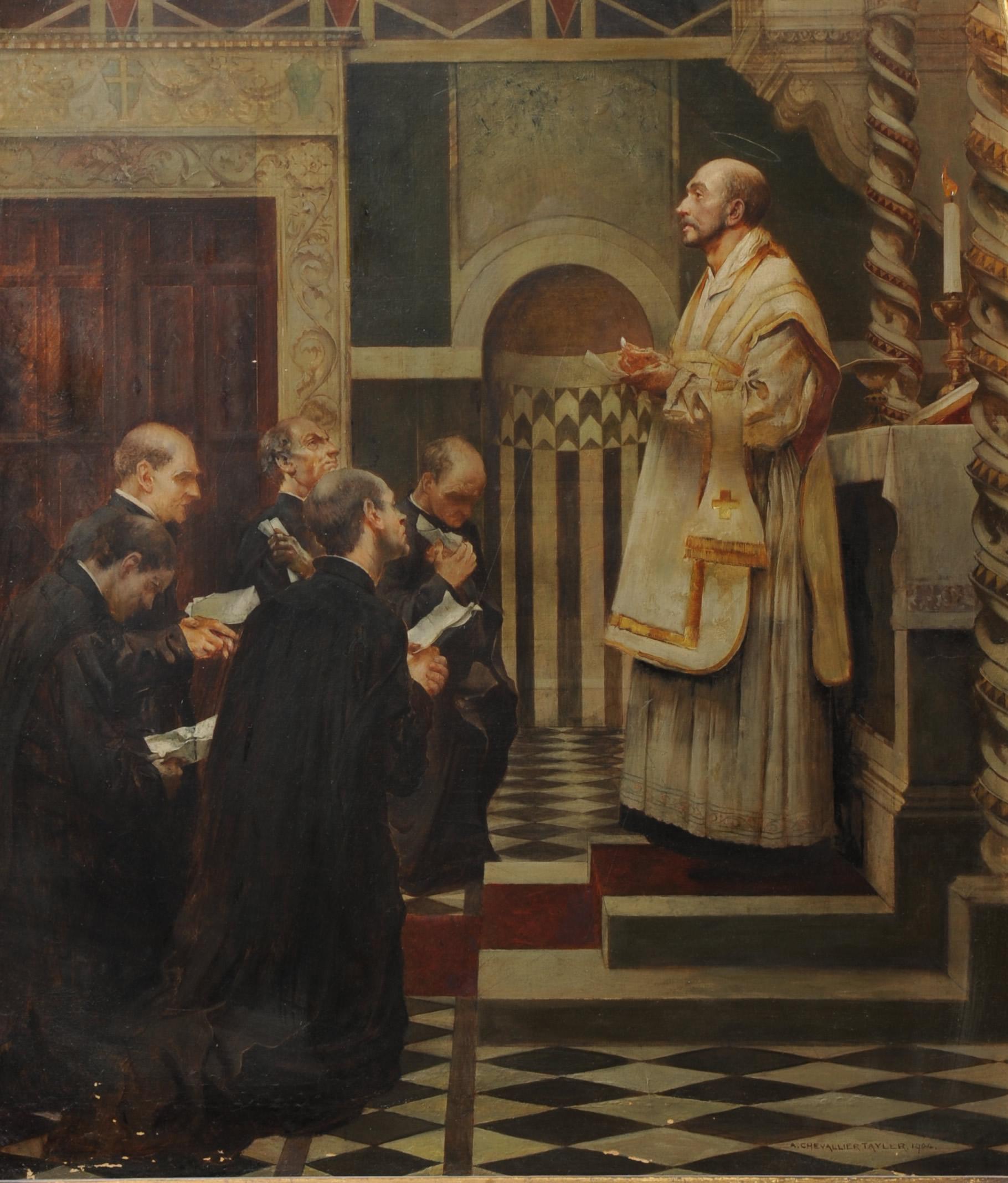 31 luglio, sant'Ignazio di Loyola (Albert Chevallier-Tayler)