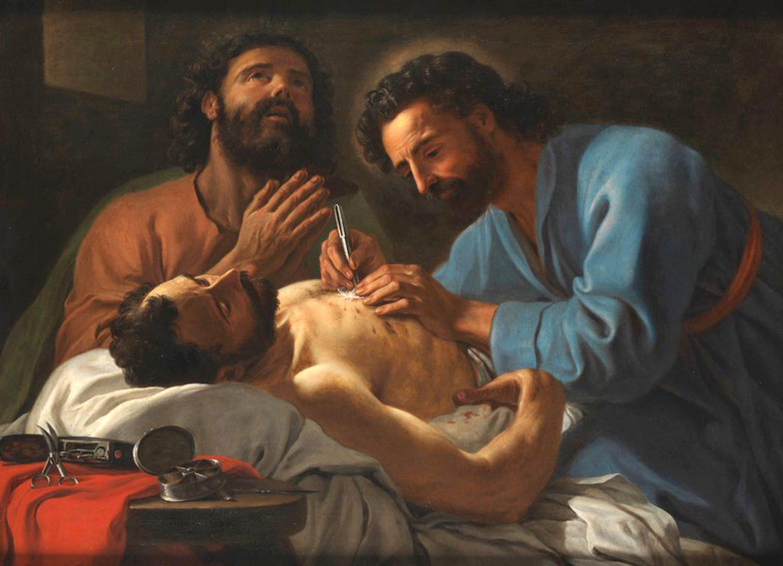 26 settembre, santi Cosma e Damiano (A. Favray)