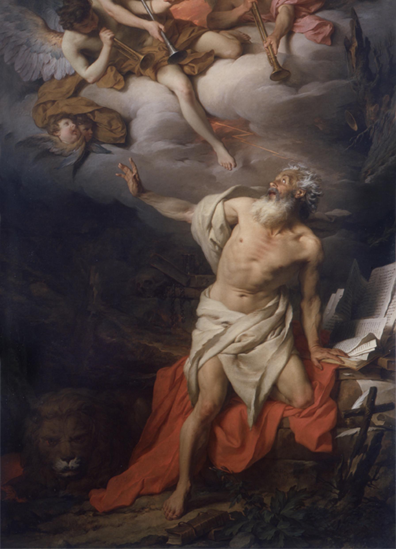30 settembre, san Girolamo (Pierre Subleyras) (1)
